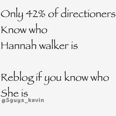 Of course...It's sad they broke up. Don't get me wrong I absolutely adore and love Eleanor...but I still think about Hannah now and then. Does anyone know how she is?
