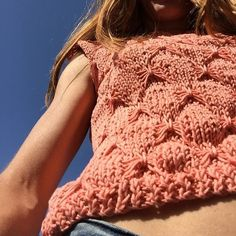 The Cotton in Salmon | We Are Knitters