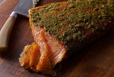 """Mexican-Style Gravlax with Cilantro and Tequila recipe from Pati's Mexican Table Season Episode 10 """"Brunch at the Jinich House"""" Fish Recipes, Seafood Recipes, Mexican Food Recipes, New Recipes, Cooking Recipes, Favorite Recipes, Seafood Dishes, Delicious Recipes, Mexican Kitchens"""
