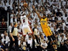 Lebron Hits Game Winning Shot in OT in First Game of Series Against Indiana Pacers | Word On Da Street