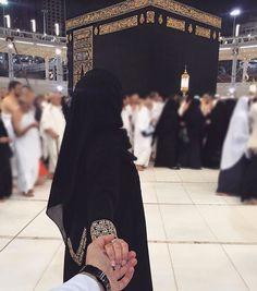 Kaaba endless love Halal love Beauty in black # peçe nikab kapalı çarşaf hicab hijab tesettür aşk çift evlilik