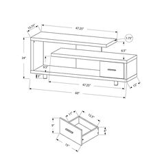60 Inch Tv Stand, 60 Tv Stand, Tv Stands, Tv Stand Plans, Tv Stand With Drawers, Flat Panel Tv, Media Storage, Grey Wood, Boat Plans