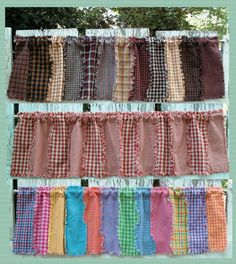 valance patterns | Sale — Window Valance Fabric/Digital Pattern Kits « Rags-n ...