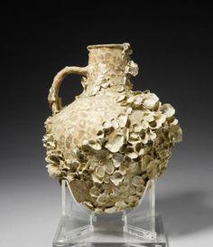 archaicwonder:  Roman Terracotta Sea-encrusted Amphora, Circa...