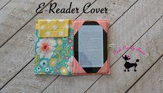 Kindle Cover Pattern Ereader Case Pattern PDF by pinkpoodlebows
