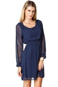 ShopSosie Style : Lillytown Polka Dot Dress