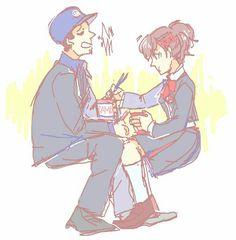 suites: (please give me all of the femc/junpei bromance) Mike Movie, Persona 3 Portable, Shin Megami Tensei Persona, Persona 4, Art Thou, Love Is Free, Fandoms, Velvet Room, Character Design