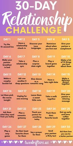 Would you believe me if I told you that you can have a better relationship in only 30 days? Well, you can! And it all starts with this 30 day relationship challenge for couples..