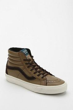 2f0cf1d7de Trendy Women s Sneakers   Vans Sk8-Hi Leather Women s High-Top Sneaker