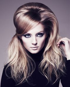 Long Blonde straight coloured multi-tonal volume womens hairstyles for women