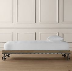 Industrial Cart Platform Bed | Beds & Bunk Beds | Restoration Hardware Baby & Child