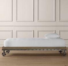 Industrial Cart Platform Bed | Beds & Bunk Beds | Restoration Hardware Baby & Child