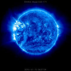 The sun as seen by STEREO in 171 wavelength.