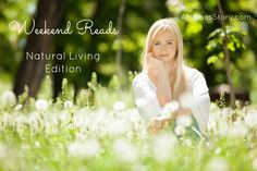 5 favorite natural living posts, May 2, 2015--Herbs for children, elderflower recipe, and growing herbs.