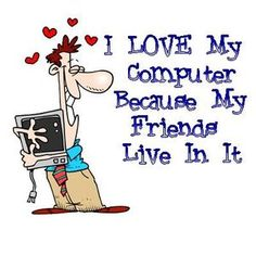 I love my computer because....