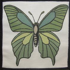 Printed Sew On Patch - LUNA MOTH - Vest, Bag, Backpack, Jacket, T-Shirt