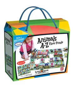 Look at this Animals A-Z Floor Puzzle on #zulily today!