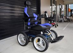 Out and About Healthcare - A0162 Aussie Bush 4x4 All Terrain Electric Wheelchair (Electric Wheelchairs)