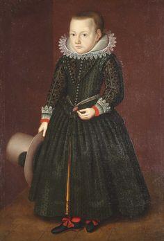 Wybrand de GEEST (Leeuwarden 1592 – 1661), Portrait d'enfant au chapeau | Alain.R.Truong