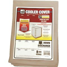 "Swamp Cooler Cover Downdraft 40x40x45 (WxDxH) Canvas – Dial #8450  Made of water repellant, mildew resistant, heavy duty tan color canvas. Covers are cut 1 1/2"" extra width to allow for shrink and minor size variations. Rugged brass grommets for securing cover to cooler. Sun resistant cord included. Swamp Cooler Cover Downdraft 40x40x45 (WxDxH) Canvas – Dial #8448 Swamp Cooler Cover Downdraft 40x40x45 (WxDxH) Canvas – Dial #8448 HEAVY DUTY CANVAS COOLER COVER  http://www.airconditi.."