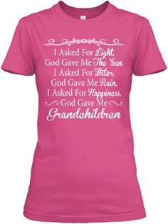 God gave me Grandchildren