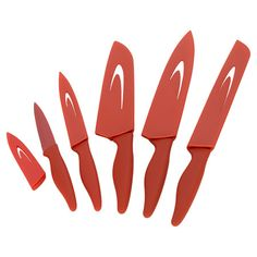 Whip up delicious dinners and bountiful brunches alike with this essential culinary must-have.  These are the best knives! So sharp!     Product: Set of 5 knives with shea...