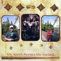 Harry Potter, Universal Studios, by Pam Clemens 2011
