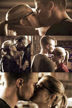#Olicity kisses #Arrow