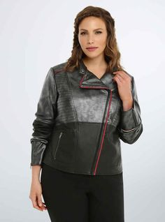 A Captain Phasma-inspired jacket for any First Order badass.
