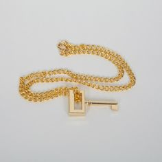 Unorthodox Jukebox Key Necklace