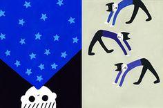 Kanae Sato's bold and blotchy children's illustrations