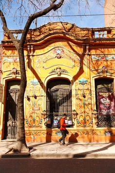 Fileteado porteño - Buenos Aires, Argentina