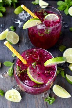 Dragon Fruit Juice Mojito Recipe
