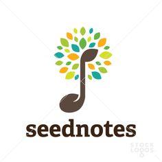seed leaf music tree | StockLogos.com