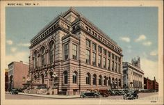 Troy Savings Bank Music Hall Troy New York.