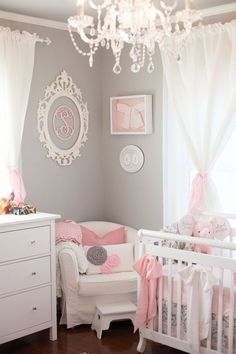 Shop baby nursery decor and be inspired by design ideas here at Project Nursery. Our baby gifts and gear include clothes, wallpaper, furniture, tech, and more. Baby Bedroom, Baby Room Decor, Nursery Room, Girls Bedroom, Nursery Ideas, Room Baby, Baby Girl Room Themes, Nursery Decor, Bedroom Green