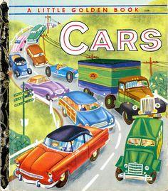 Cars - Little Golden Book