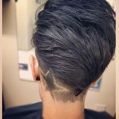 Short Undercut hair designs hair by @stylistjlc