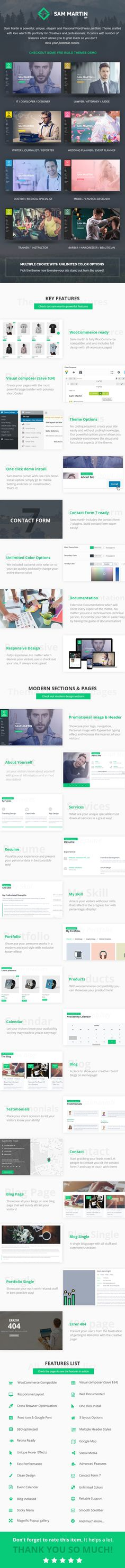 Ashly McBeth Resume Template Stand Out Shop Sam Pinterest - wordpress resume template