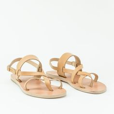 Greek sandals, Strappy Women Sandals, Leather Sandals,12 colors available