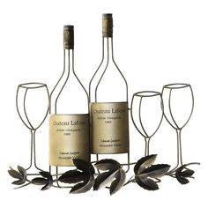 Wine Metal Wall Decor. My daughter would love this...v....