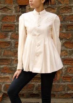 Off-White Raw Silk Jacket #Shop #Now #Jackets #By #Vasansi #Jaipur
