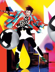 British Vogue Dec 2012 Mario Testino @ Art Partner