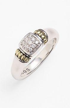 Lagos Caviar™ Diamond Ring | Nordstrom $750
