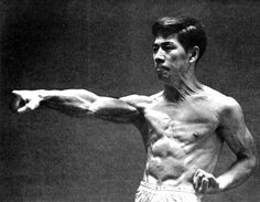 """Hirokazu Kanazawa: One of the most technically perfect shotokan practitioners in the world. He inspired a saying: """"Everyone wants to be as good as Kanazawa, no one wants to work as hard as Kanazawa."""""""
