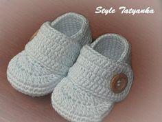 Crochet patterns PDF  Baby Boy Booties  Pattern by StyleTatyanka, $2.50