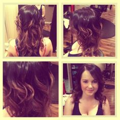 ombre' and style by Whitney Renee' Anderson @Bellahairandmakeup