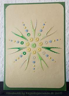 Geburtstag - Fadengrafik Grußkarten Set 268 - ein Designerstück von Bastelfan1809 bei DaWanda