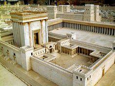Jerusalem Temple model