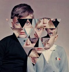 Illusion: The collage art of Jordan Clark.     (Image © Clark)    http://illusion.scene360.com/art/29415/freaky-triangle/